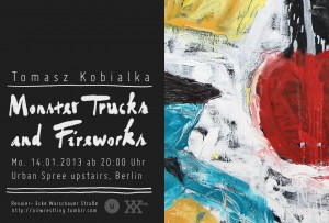 Monster trucks and Fireworks - Tomasz Kobialka