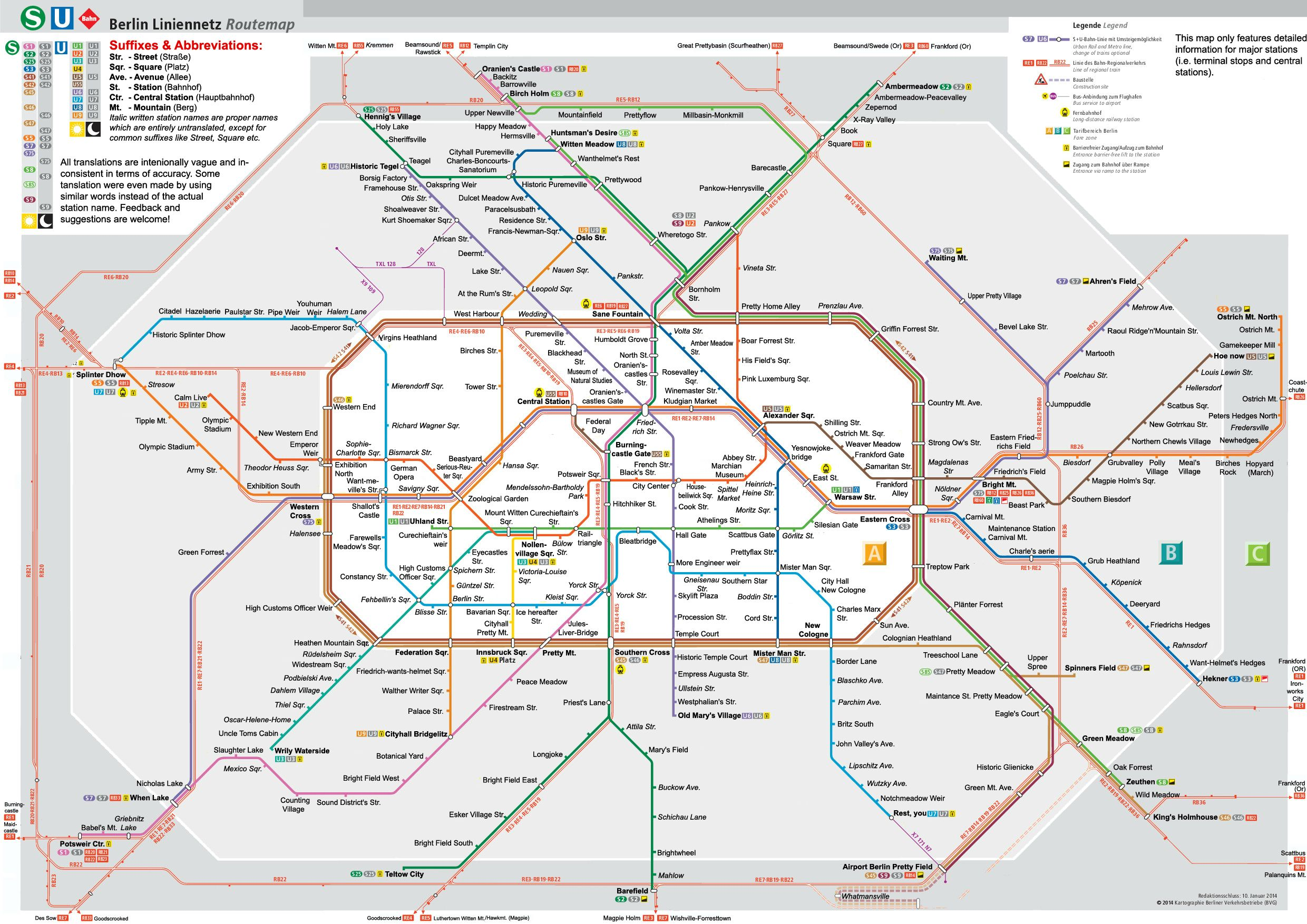 berliner subway map in denglish freundeskreis street art berlin. Black Bedroom Furniture Sets. Home Design Ideas